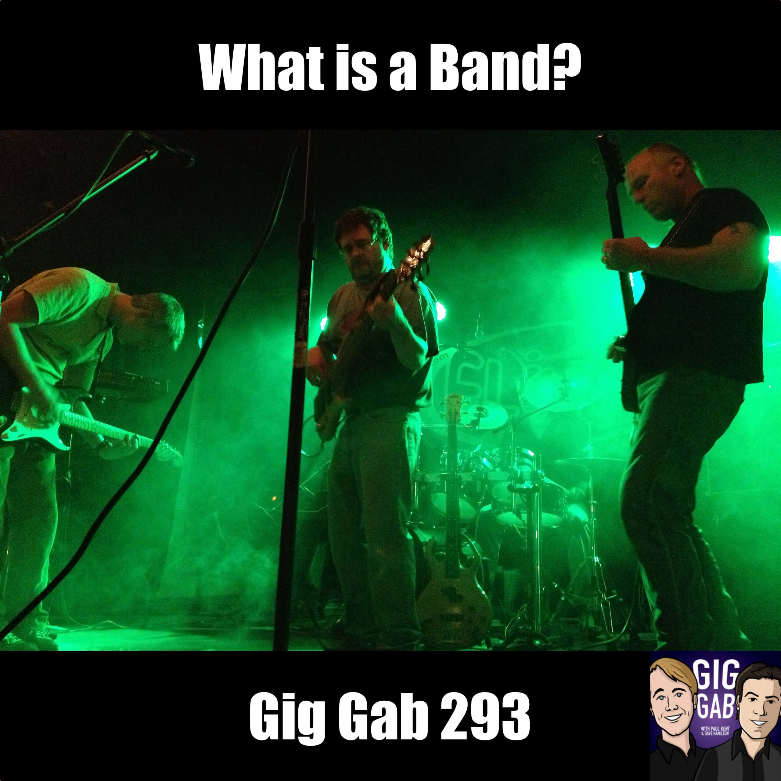 Fling On Stage for Gig Gab 293 Episode Image