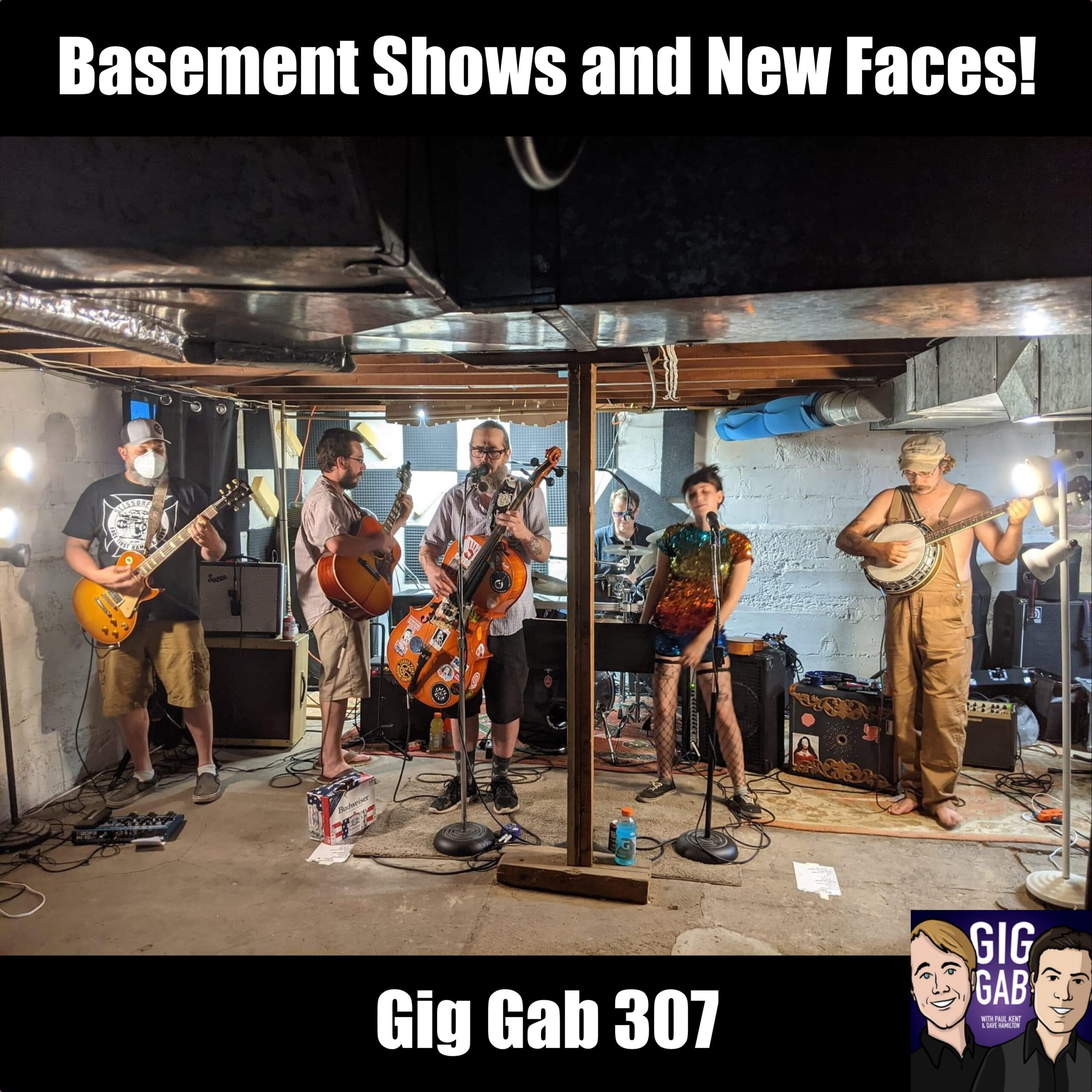 Basement Shows and New Faces —Gig Gab 307 episode image